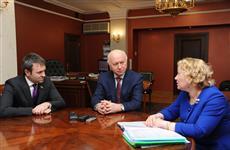 Николай Меркушкин и Александра Гожая обсудили варианты модернизации системы водоснабжения в Октябрьске