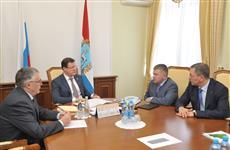 Дмитрию Азарову представили нового председателя Поволжского банка ПАО Сбербанк