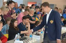В Хвалынске открылась шахматная школа имени Сергея Карякина