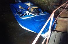 На реке Сок столкнулись две лодки, есть пострадавшие
