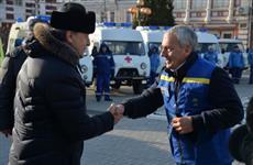 """Изношенный парк автомобилей """"скорой помощи"""" в Саратовской области обновлён на 100%"""
