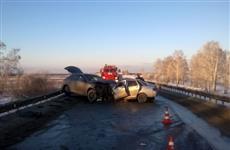 При ДТП на трассе Волжский - Курумоч два человека погибли и два пострадали