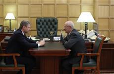 Александр Ткачев и Юрий Берг обсудили вопросы развития АПК Оренбургской области