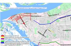 Опубликована карта комплексного ремонта дорог Самары на 2017 год
