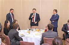 Глава Минэкономразвития РФ Максим Орешкин встретился с молодыми бизнесменами губернии