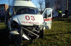 """В Тольятти в ДТП пострадал экипаж """"скорой помощи"""" с пациентом"""