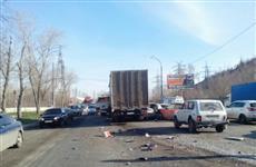 В Жигулевске при столкновении 14 машин пострадали восемь человек