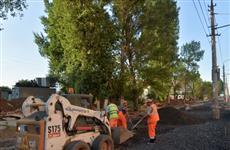 Валерию Радаеву представили экономичный способ ремонта дорог в Энгельсе