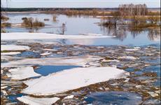 В Саратовской области в пяти муниципальных районах подтоплены 884 придомовых территории