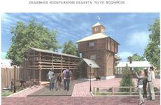 В Самаре реконструируют старинную крепостную башню