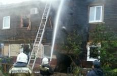 В Самаре из горящего дома в Ленинском районе эвакуировали две семьи