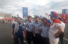 Датские полицейские помогли обеспечивать порядок на самарском фанфесте
