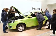 Продажи Lada Vesta за год выросли в 27 раз
