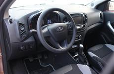 АвтоВАЗ показал элементы интерьера Lada XRAY