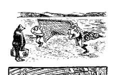 """Самарский карикатурист передумал дарить свою коллекцию """"Крыльям"""" после их вылета из высшей лиги"""