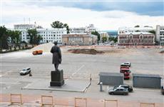 Капремонт площади Куйбышева в Самаре выполнен на 40%
