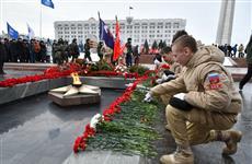 Юнармейцы присутствовали на торжествах, посвященных 75-летию Сталинградской битвы