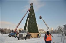 Главную елку Самары украсят километровой гирляндой