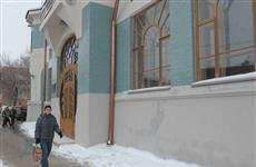 Граффити на фасаде особняка Курлиной скрыли краской