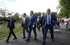 Глава региона посетил ряд важных социальных и культурных объектов Новокуйбышевска