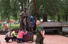 В самарском парке Победы установлен памятник Пограничникам