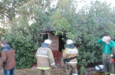 При пожаре в частном доме в Хворостянке погибли пожилые мужчина и женщина