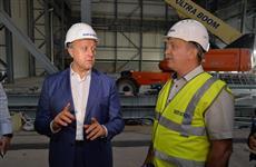 Валерий Радаев ознакомился с ходом строительства завода гидротурбин в Балаково