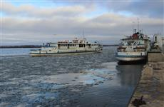 Из-за ледостава на Волге жители Рождествено оказались отрезанными от Самары