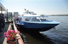 """Скоростное судно """"Восход"""" начнет курсировать между Самарой и Сызранью не раньше 12 сентября"""