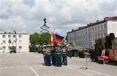 В 91-й бригаде управления отметили День рождения, а новобранцы бригады МТО приняли присягу
