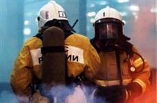 Во время пожара на ул. Свердлова в Тольятти спасли двух человек