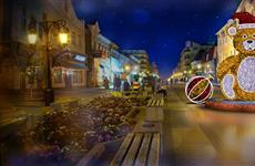 К Новому году Самару украсят 110 км гирлянд, световые фонтаны и фигуры