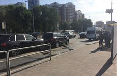 В ДТП с участием Porsche Cayenne в Самаре пострадали два пассажира автобуса