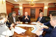 Николай Меркушкин поручил начать проектирование новой станции метро и ускорить сроки строительства дворца спорта