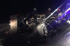 В Кинельском районе в столкновении легковушки и фуры погибли два человека