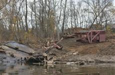 Затонувшая в Большом Кинеле баржа может обойтись бюджету в несколько миллионов рублей