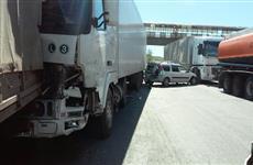 На спуске в Жигулевске опять произошло массовое ДТП
