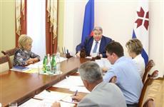 Глава Мордовии провел ряд совещаний по реализации майского указа президента России