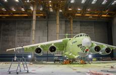 На первом российском топливозаправщике Ил-78М-90А завершены работы по грунтованию воздушного судна