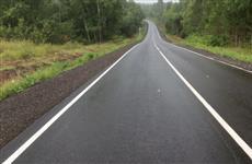 В Прикамье сдан участок дороги между Курашимом и Платошино