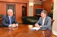 Николай Меркушкин провел рабочую встречу с Олегом Фурсовым
