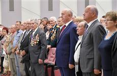 Губернатор принял участие в выборной конференции областной организации ветеранов