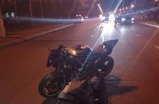 В Тольятти после ДТП на штрафстоянку забрали мотоцикл, водитель которого не имел нужной категории в правах