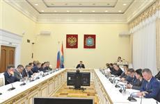 Дмитрий Азаров провел заседание регионального правительства