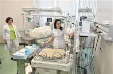 """В новом самарском госпитале """"Мать и дитя"""" уже родилось трое детей"""