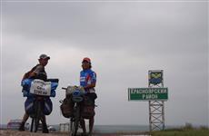 Через Самарскую губернию на велосипедах проедут путешественники с севера