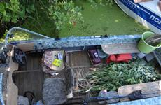 В лодке у жителя Сызрани изъято более 4,5 кг марихуаны