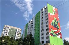 Дом на ул. Ново-Садовой украсят граффити в честь победы сборной России в 1/8 финала ЧМ