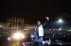 Более 100 тыс. человек посетили площадь Куйбышева за январские выходные
