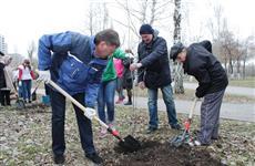 Глава Самары Олег Фурсов принял участие в общегородском субботнике